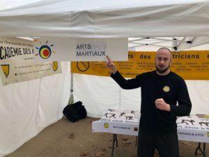 Culture Silat - Démo de Silat Gayung Fatani au Famillathlon Paris - 2018 (1)