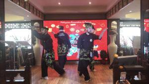 Culture Silat - Démonstration Silat Gayung Fatani au Nouvel An Chinois 2018 (2)