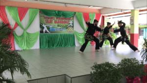 Culture Silat - Démonstration de Silat - SMK Taman Maluri - Malaisie 2018 (11)