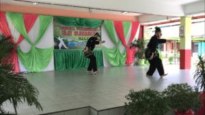Culture Silat - Démonstration de Silat - SMK Taman Maluri - Malaisie 2018 (5)