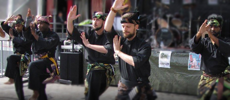 Culture Silat - Démontration de Silat au Paris Tattoo In - septembre 2017