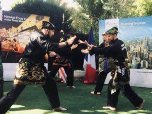 Culture Silat - Demo Silat Fatani à Rumah Malaysia - 2018 (12)