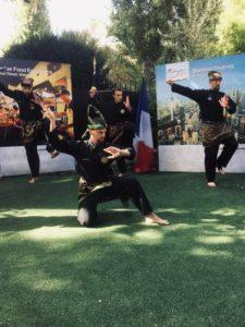 Culture Silat - Demo Silat Fatani à Rumah Malaysia - 2018 (6)