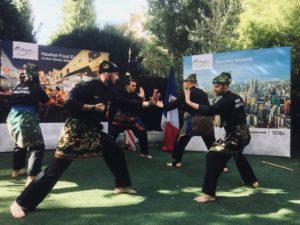 Culture Silat - Demo Silat Fatani à Rumah Malaysia - 2018 (9)