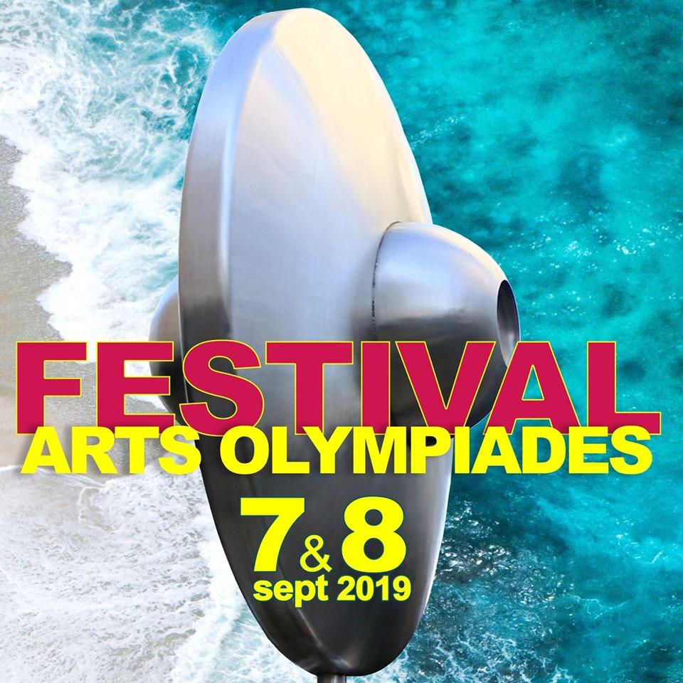 Affiche Festival Arts Olympiades