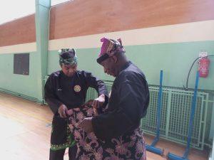 Culture Silat - Festival Little Asia Bolly Dewani - Avant la démo de Silat (1)