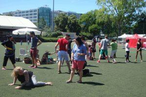 Culture Silat - Festival Little Asia Bolly Dewani - Cours découverte Silat (2)