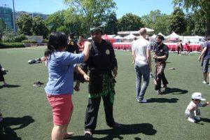 Culture Silat - Festival Little Asia Bolly Dewani - Cours découverte Silat (4)