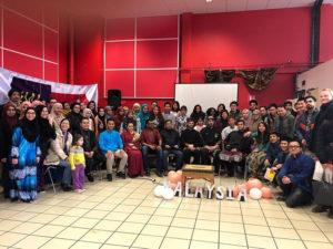 Culture Silat - Festival Seni Malaysia 2018 - Grenoble Salle Rouge (1)