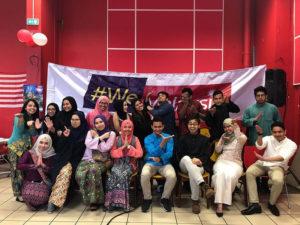 Culture Silat - Festival Seni Malaysia 2018 - Grenoble Salle Rouge (2)