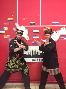 Culture Silat - Festival Seni Malaysia 2018 - Grenoble Salle Rouge (23)