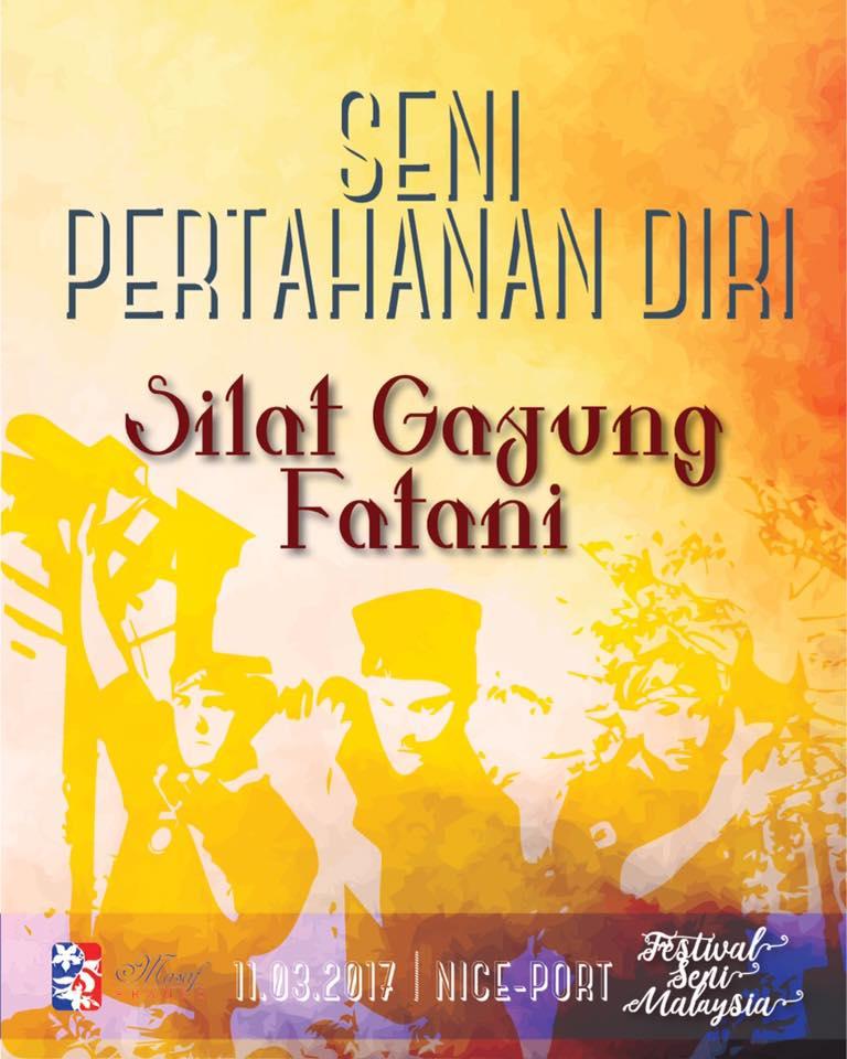 Culture Silat - Festival Seni Malaysia - Silat Seni Gayung Fatani Malaysia