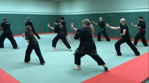 Culture Silat - Gymnase Caillaux - Premier cours Dojo (1)