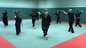 Culture Silat - Gymnase Caillaux - Premier cours Dojo (2)