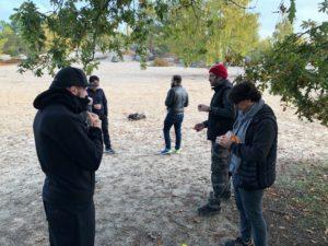 Culture Silat - Premier jour de tournage à Fontainebleau - 2019 (1)