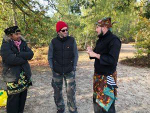 Culture Silat - Premier jour de tournage à Fontainebleau - 2019 (2)