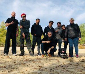 Culture Silat - Premier jour de tournage à Fontainebleau - 2019 (3)