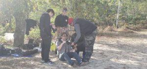 Culture Silat - Premier jour de tournage à Fontainebleau - 2019 (4)
