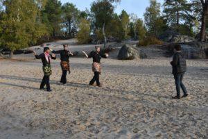 Culture Silat - Premier jour de tournage à Fontainebleau - 2019 (7)