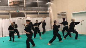 Culture Silat - Répétition Démo Forum des Communautés - 2018 (2)