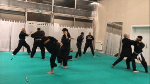 Culture Silat - Répétition Démo Forum des Communautés - 2018 (4)