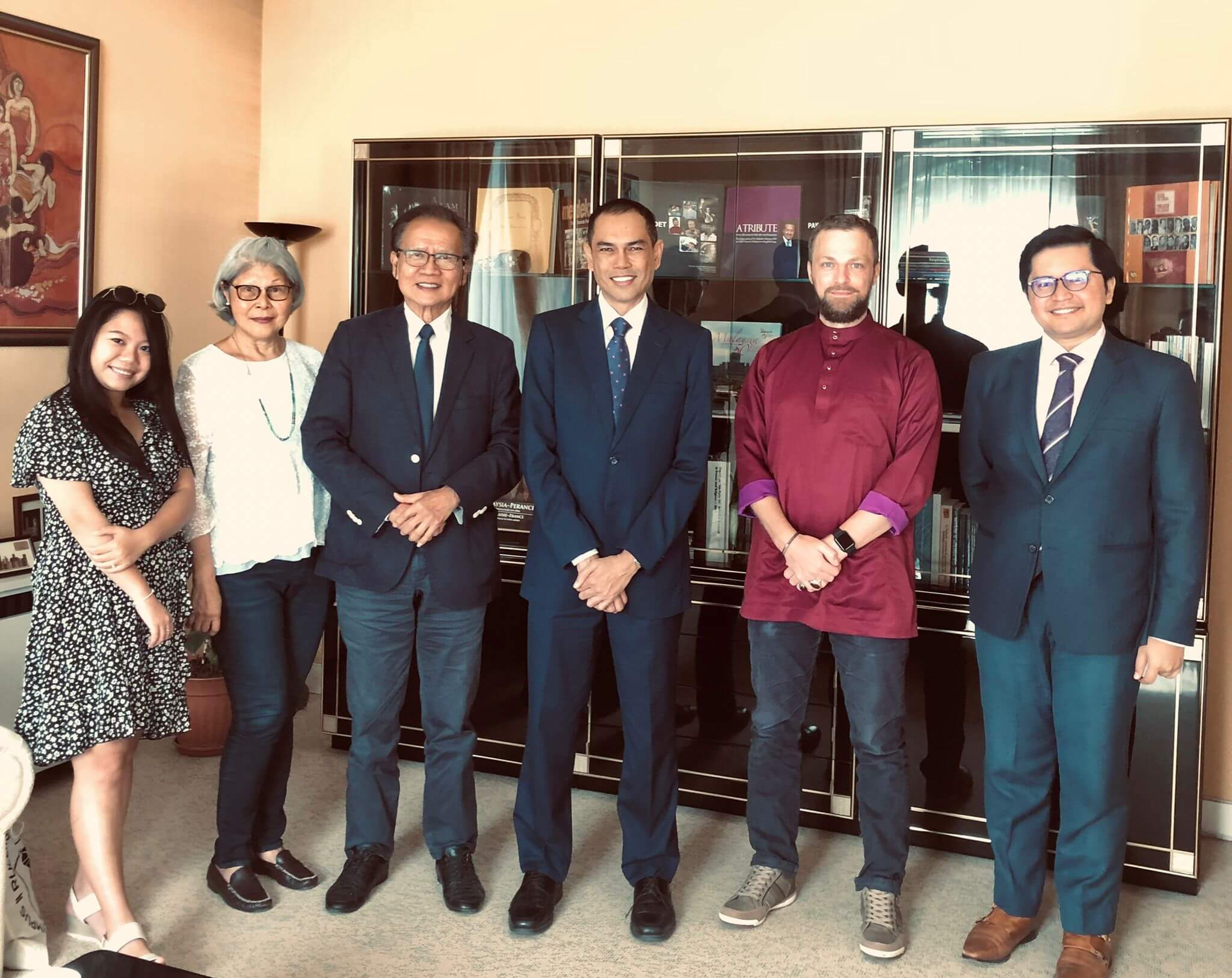 Culture Silat - Rencontre avec Dato Zamruni Khalid - Ambassade de Malaisie - 2021