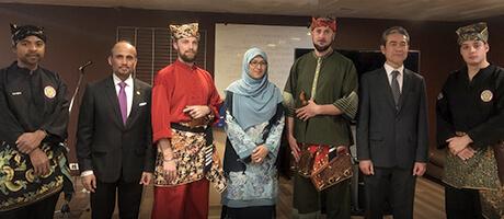 Culture Silat - Démonstration de Silat Seni Gayung Fatani à l'UNESCO - 2019