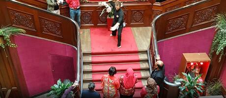 Démonstration de Silat au Nouvel An Chinois 2018