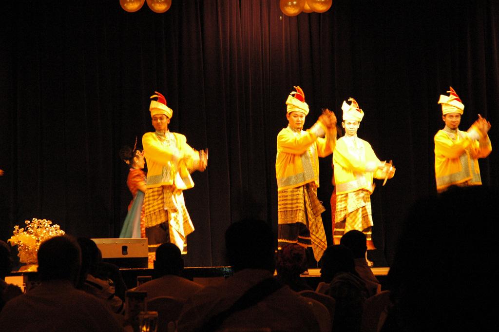 Danse traditionnelle mixte