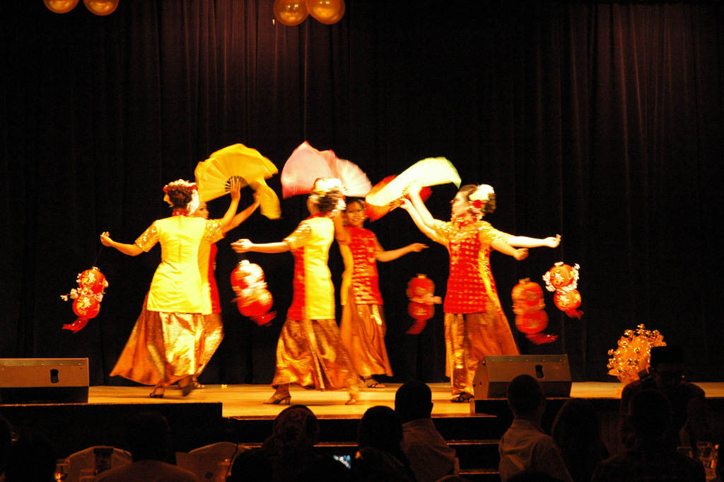 Danse traditionnelle chinoise