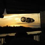 Coucher de soleil sur le Selangor