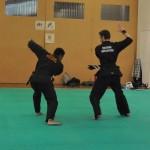 Pencak Silat - deux Ceintures noires en plein combat