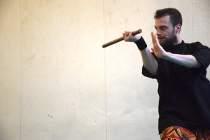Stage de Pencak Silat traditionnel - Cikgu Audy et son baton court