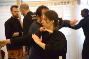 Stage de Pencak Silat traditionnel - Technique bâton avec Pauline