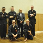 Pencak Silat - Photo de groupe avec Maître Raban - Maison du Taiji