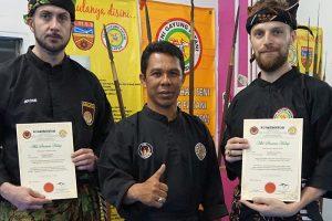 Diplomes membres à vie - Cikgu Jerome et Cikgu Audy