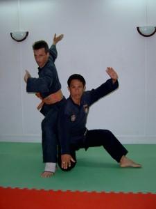Cikgu Halim invité en France par Maître Raban pour donner un stage de Pencak Silat Seni Gayung Fatani
