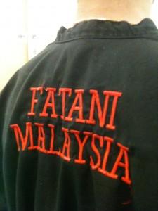 pencak silat - Baju Seni Gayung Fatani Malaysia - Kimono silat