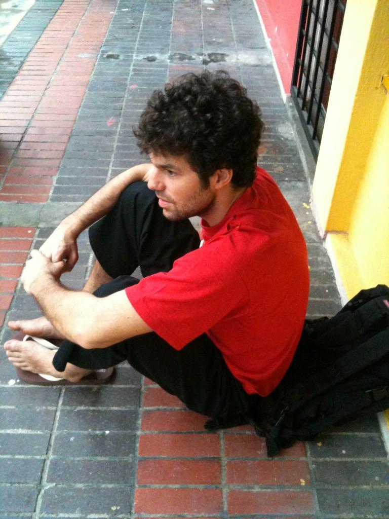 Penchak Silat - En attendant l'entraînement de pencak silat en malaisie