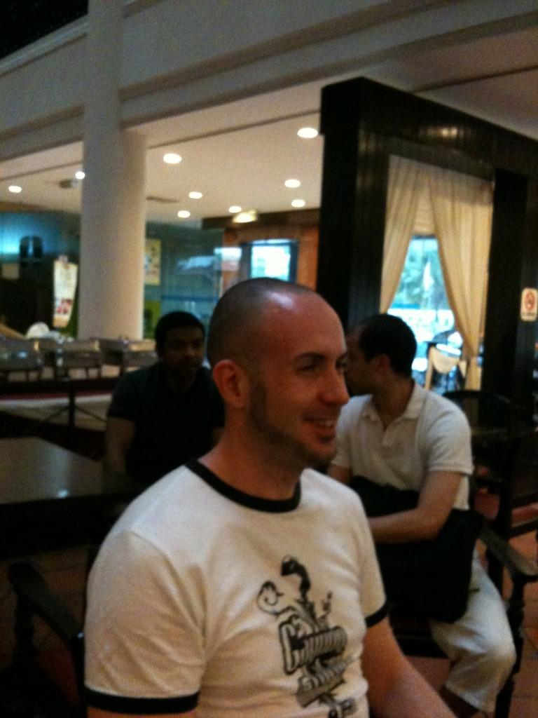 Penchak Silat - avant le départ pour le cours de pencak silat en malaisie