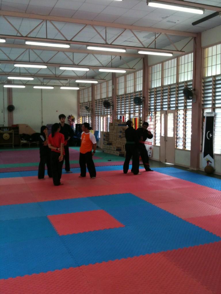 Penchak Silat - Cikgu Halim, jurulatih pencak silat seni gayung fatani malaysia