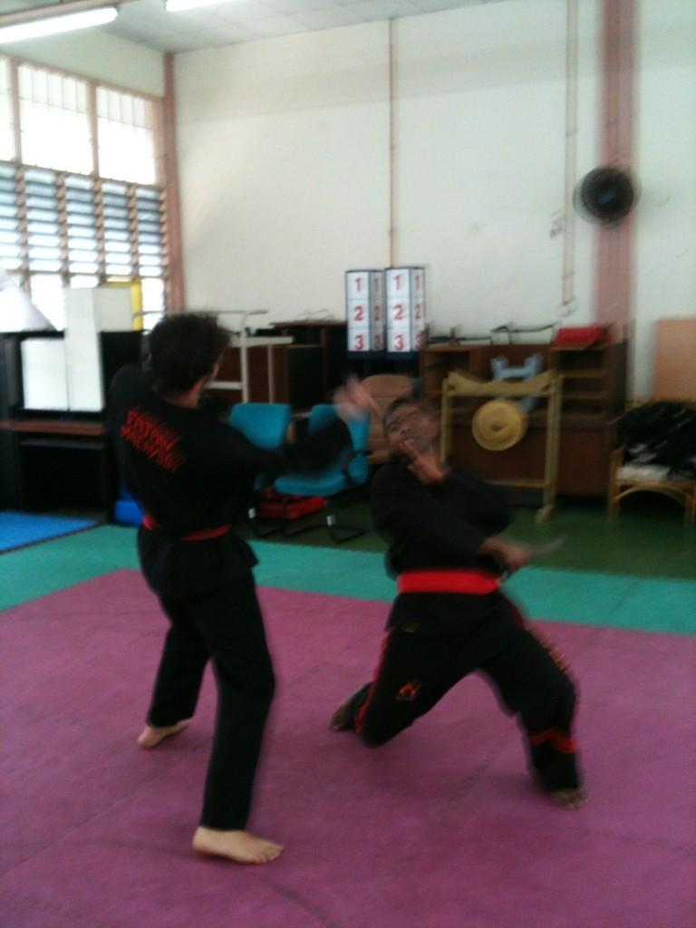 Penchak Silat - Tempur golok - Pencak Silat seni gayung fatani malaysia