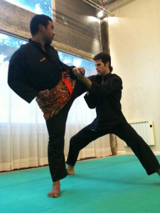 Penchak Silat - Séance de stretching