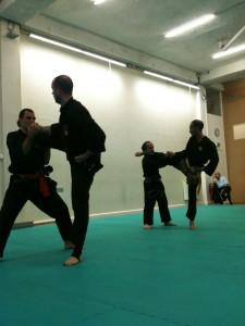 Penchak silat - Side kick
