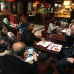 Carnet de Voyage en Malaisie 2014 - Dernier repas à l'aéroport de Roissy