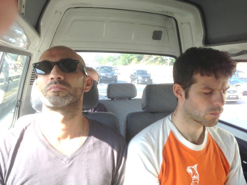 Carnet de Stage Silat Fatani 2013 - Repose pour Franck et Matthias