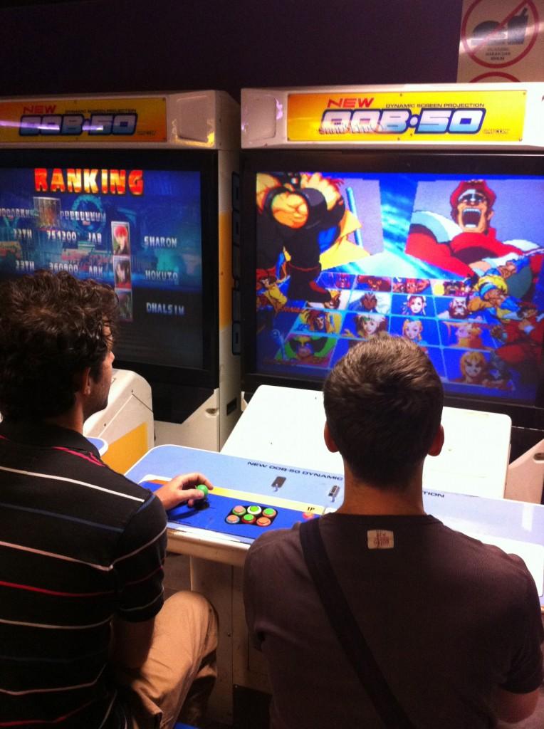 Matthias VS Audran à Marvel VS Capcom
