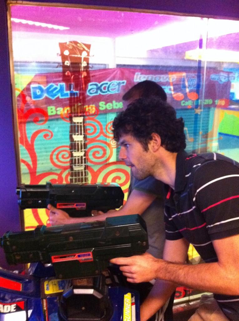 Time Crisis à la salle d'arcade de Kajang