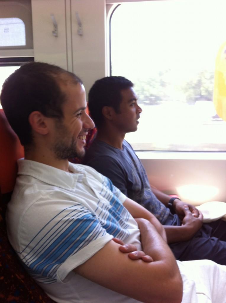 Ferhat et Mahéry dans le KLM pour KL