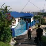 Carnet de Voyage en Malaisie 2014 - Les derniers mètres à pieds